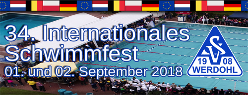 34. Internationales Schwimmfest 2018